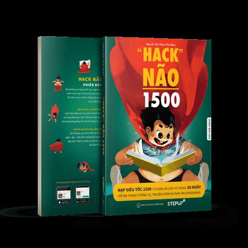 combo sách hack não 1500 từ tiếng anh