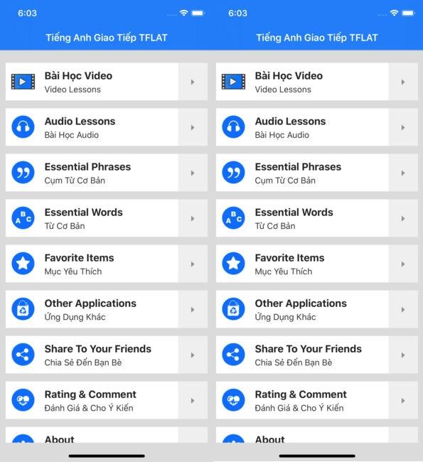 Phần mềm Tflat học tiếng Anh offline miễn phí