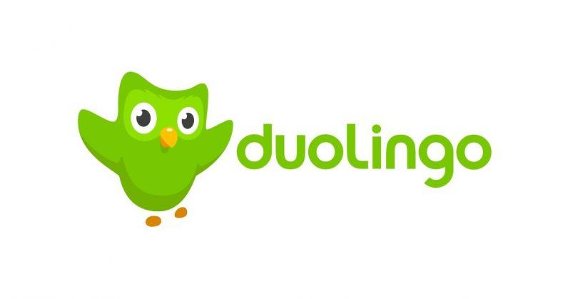 Duolingo với chú chim xanh biểu tượng