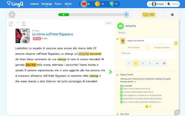Web học tiếng Anh với người nước ngoài