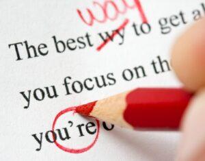 Các lỗi thường mắc trong ngữ pháp tiếng Anh
