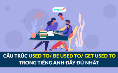 Cấu trúc used to/ be used to/ get used to trong tiếng Anh đầy đủ nhất