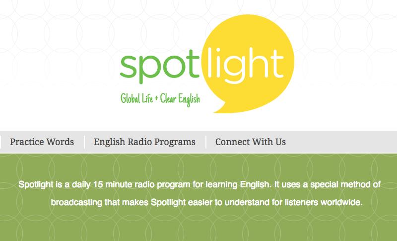 Phần mềm Spotlight English