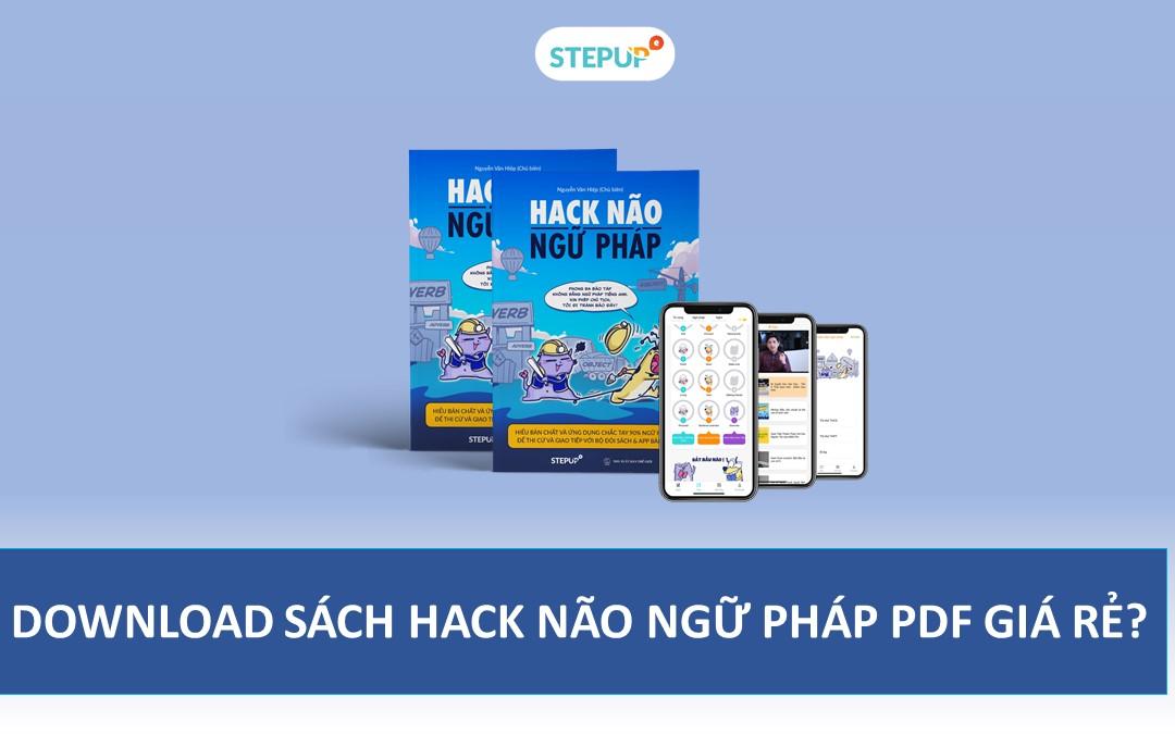 Có thể download sách Hack Não Ngữ Pháp PDF miễn phí?