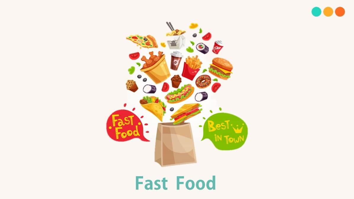Từ vựng tiếng Anh về đồ ăn