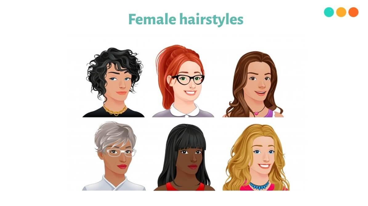 Từ vựng tiếng Anh về kiểu tóc