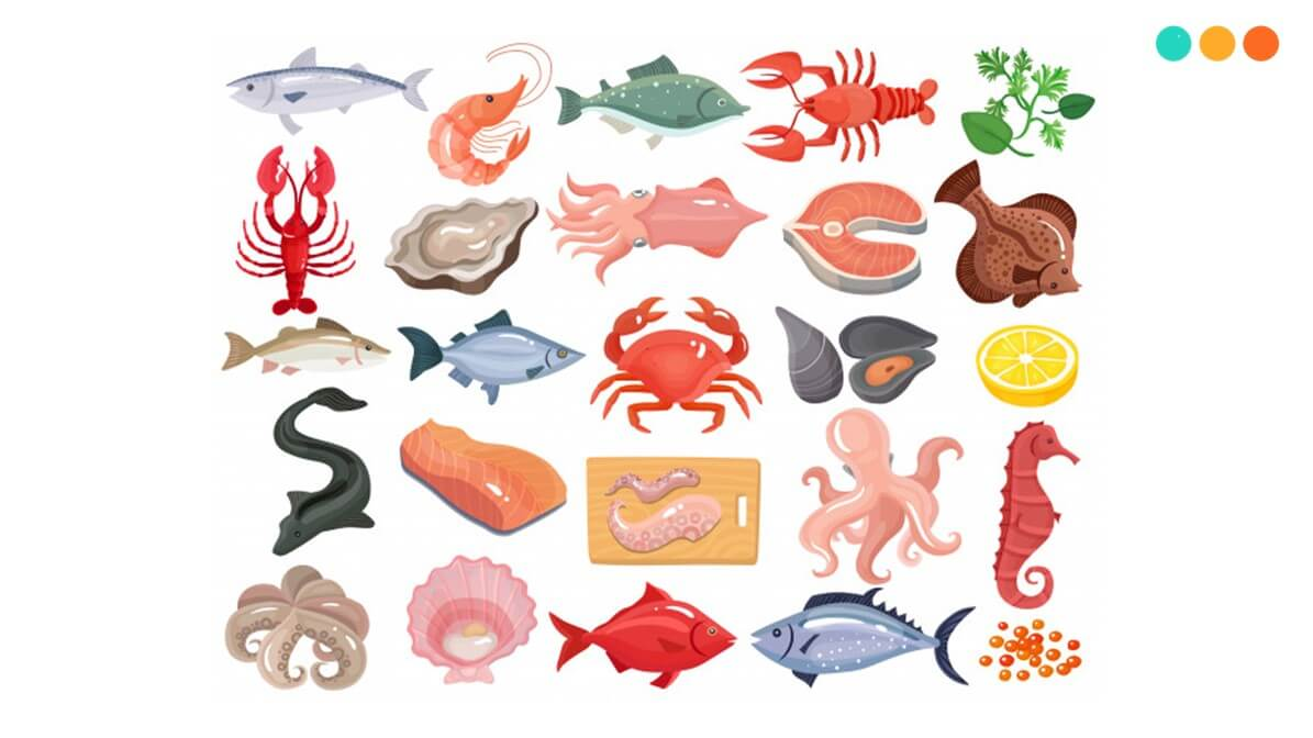 Từ vựng tiếng Anh về hải sản