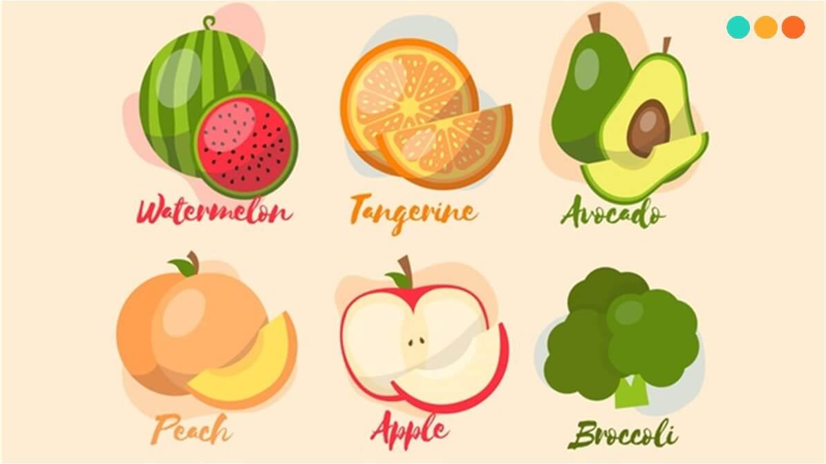 Từ vựng về hoa quả