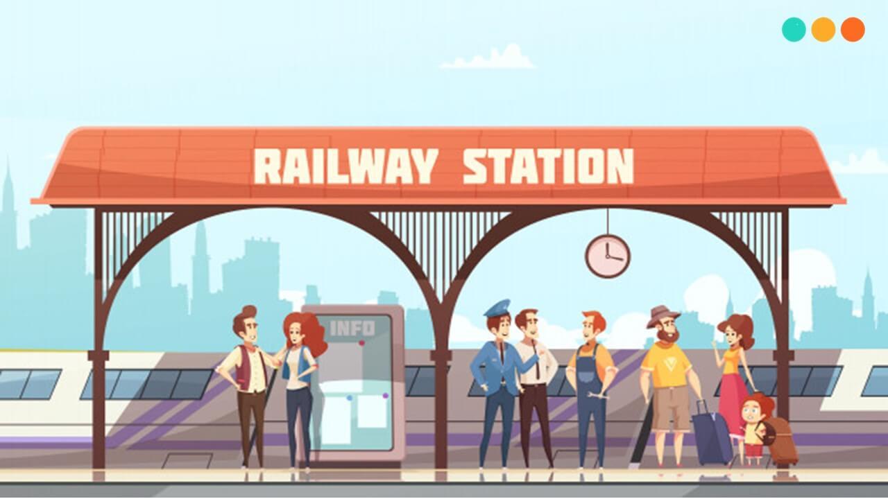 Luyện tập tiếng Anh giao tiếp tại nhà ga