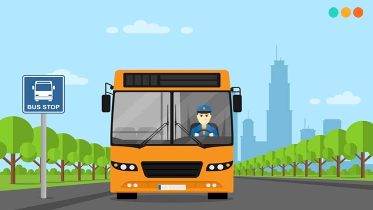 Những mẫu câu tiếng Anh giao tiếp trên xe bus