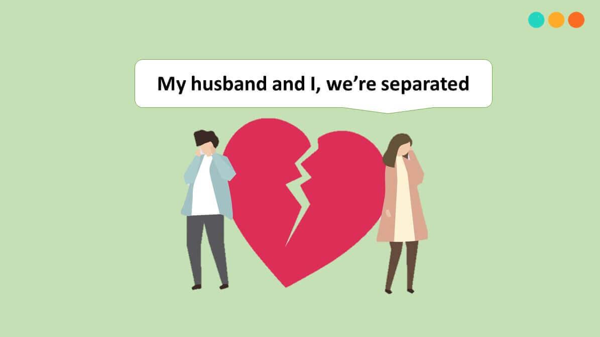 Nói về tình trạng hôn nhân bằng tiếng Anh đã ly hôn