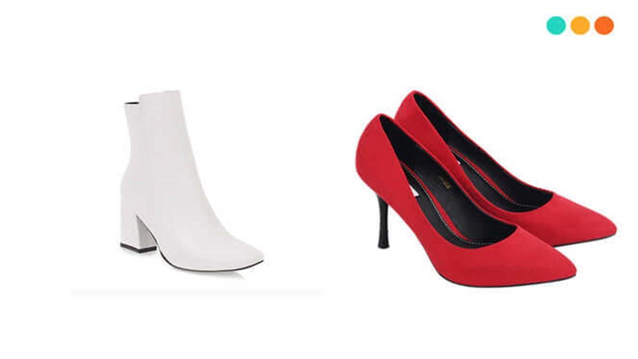 Từ vựng miêu tả giày dép trong tiếng Anh cho phái nữ