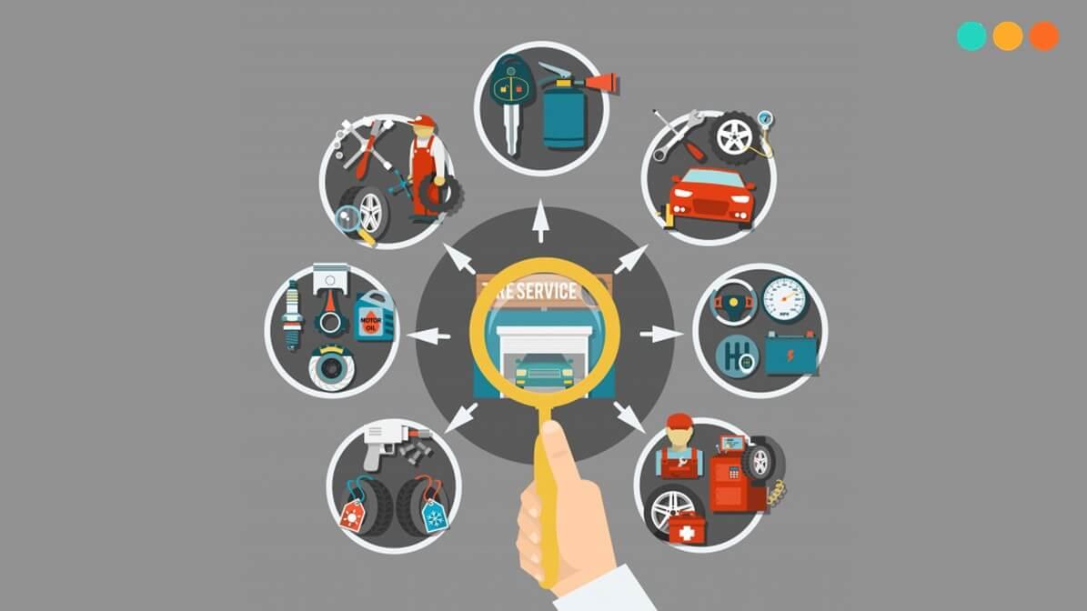Từ vựng tiếng Anh về các bộ phận xe ô tô