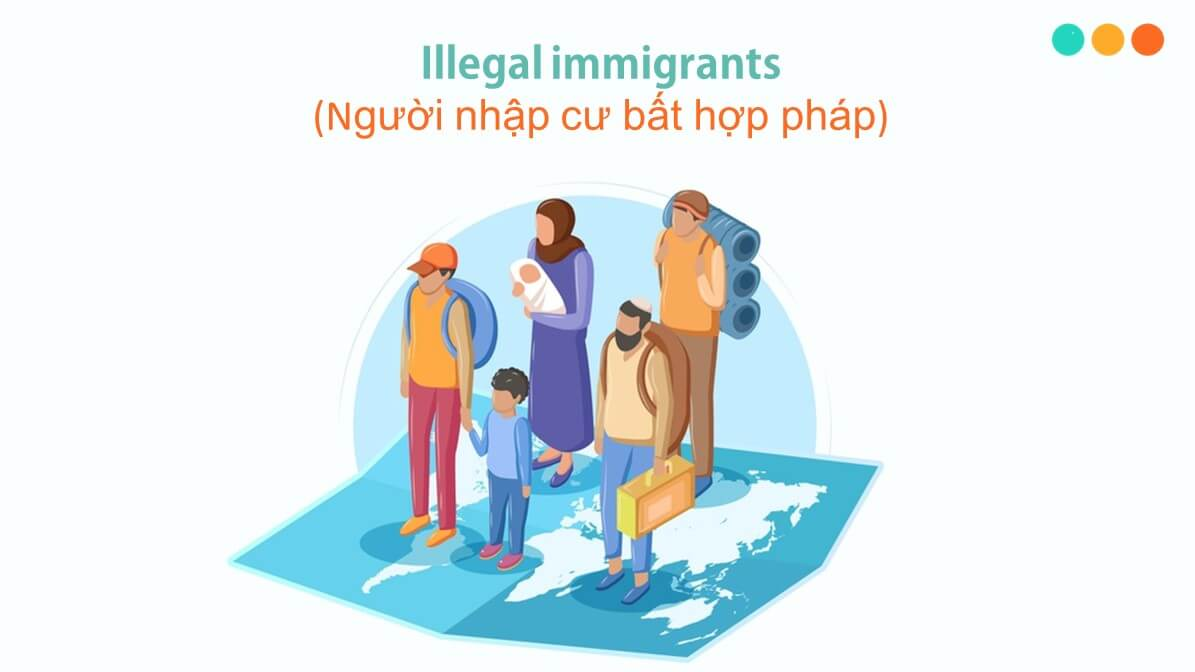 Từ vựng tiếng Anh về di cư và nhập cư