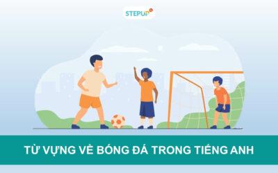 Cập nhật từ vựng về bóng đá trong tiếng Anh mới nhất