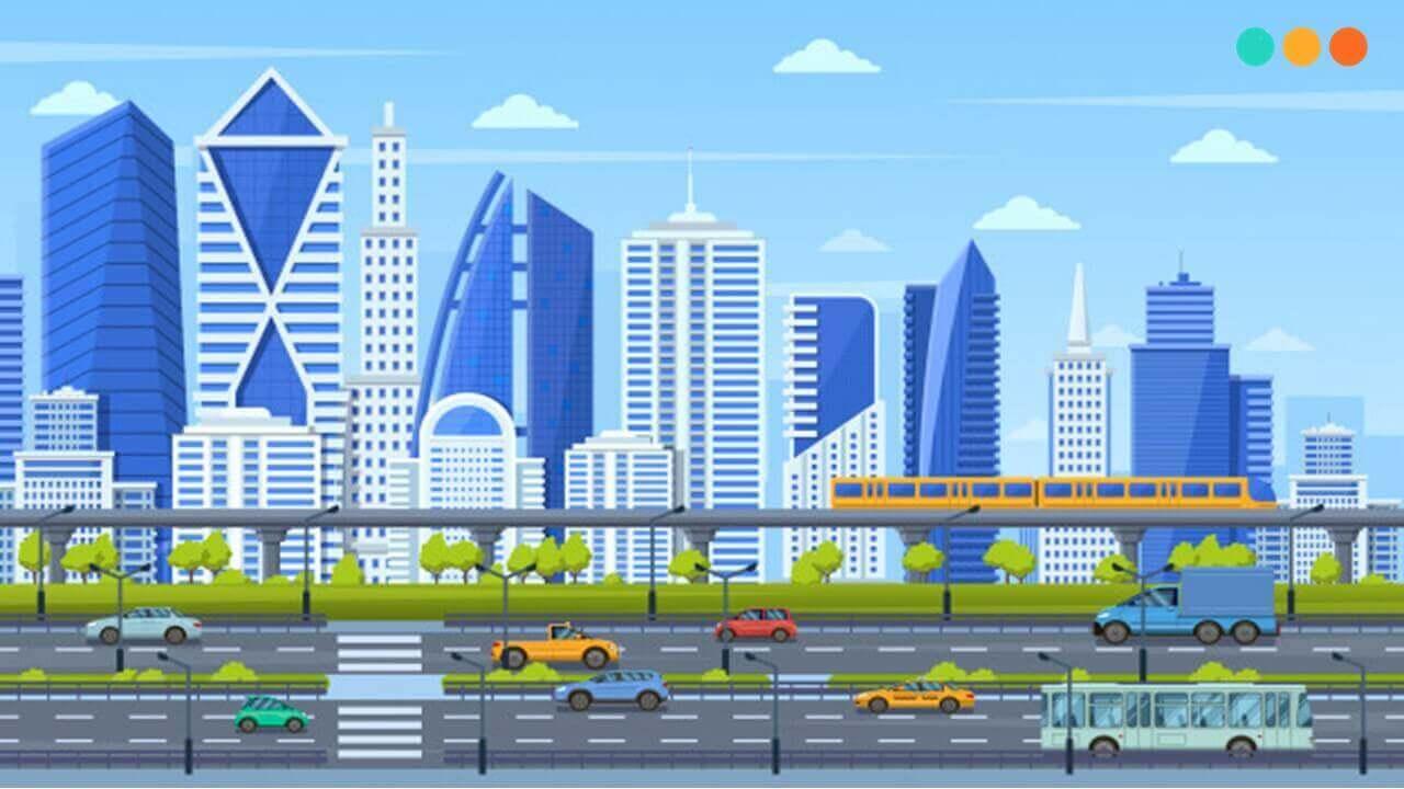 Ứng dụng từ vựng tiếng Anh về thành phố