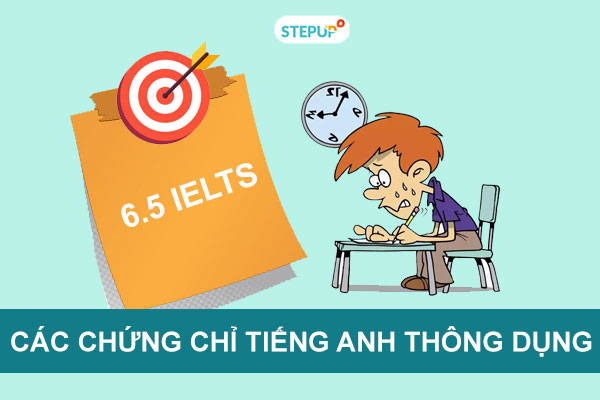 Các loại chứng chỉ tiếng Anh thông dụng tại Việt Nam