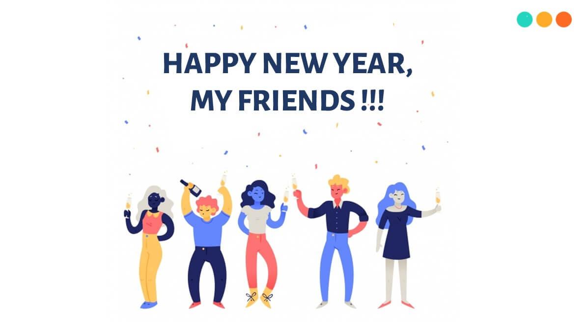 Chúc mừng năm mới bằng tiếng Anh