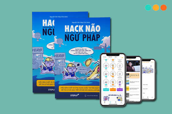 Sách Hack Não Ngữ Pháp