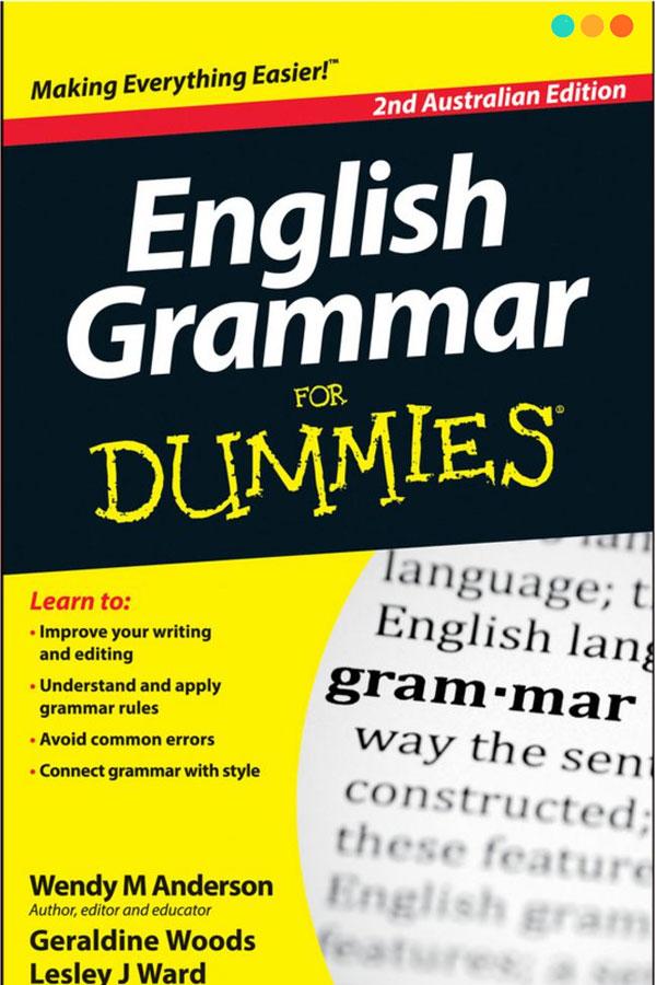 Tài liệu tiếng ANh  English Grammar for Dummies