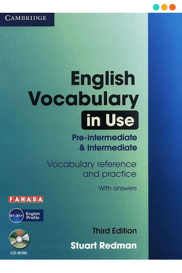 Tài liệu tiếng Anh English Vocabulary in Use Pre Intermediate