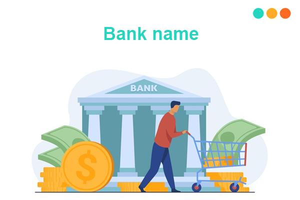 Tên ngân hàng tiếng Anh
