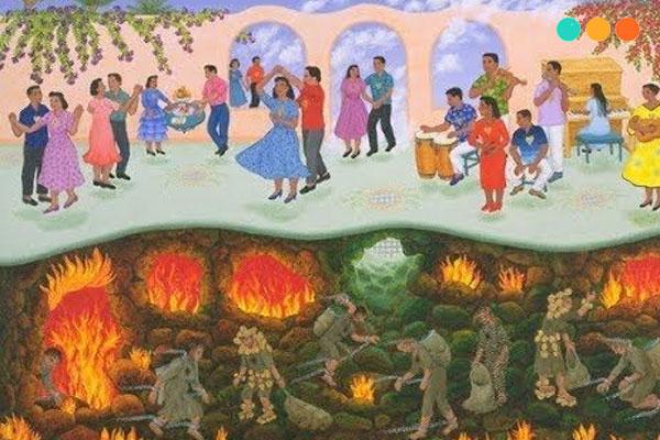 Truyện tiếng Anh thiên đàng và địa ngục
