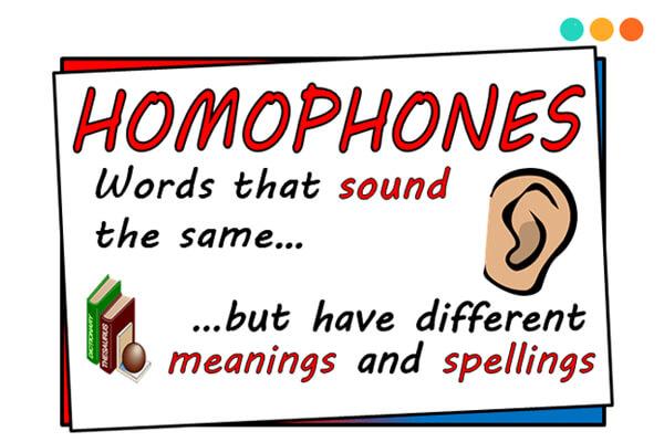 Từ đồng âm khác nghĩa