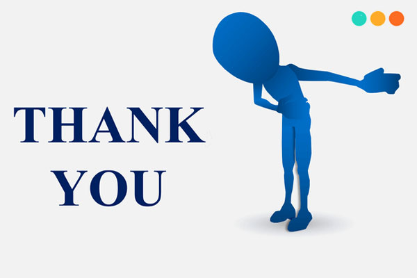 Lời cảm ơn bằng tiếng Anh trong cuộc sống
