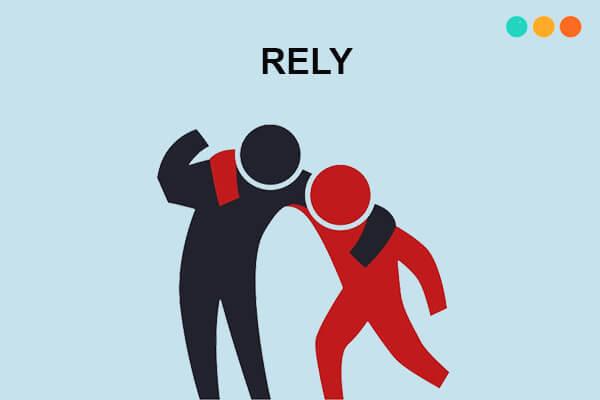 Reply và rely