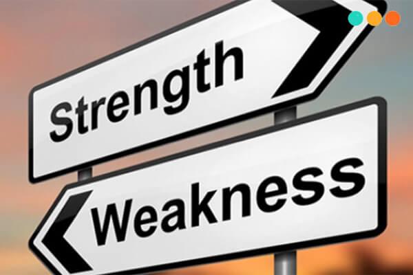 viết về điểm mạnh điểm yếu bằng tiếng Anh