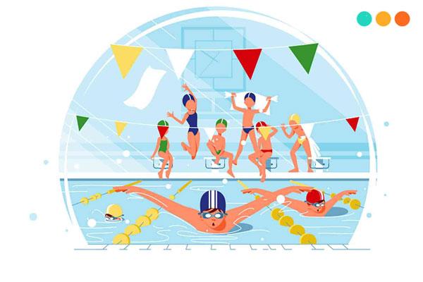 viết về môn thể theo yêu thích bằng tiếng ANh là bơi lội