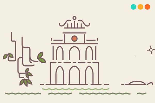 Viết về quê hương Hà Nội bằng tiếng Anh