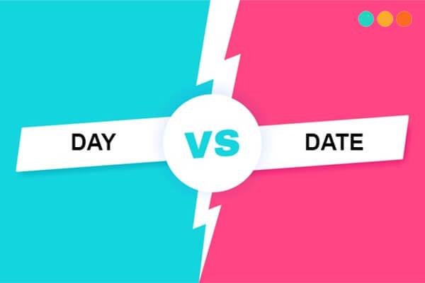 Day và date
