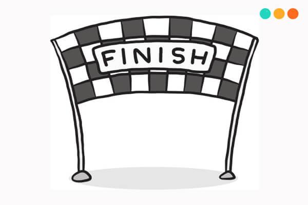 end và finish