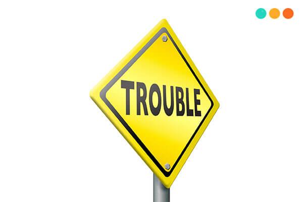 Trouble và Problem