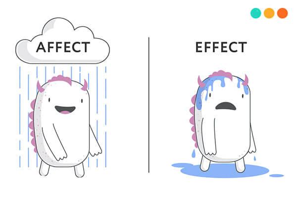affect và effect