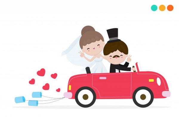 Chúc mừng đám cưới bằng tiếng Anh cho bạn bè