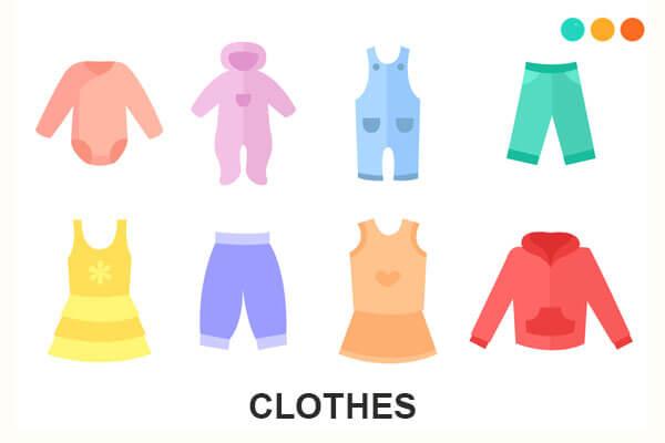 cloth và clothes
