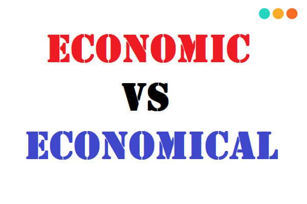 economic và economical