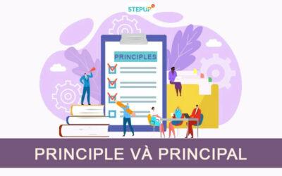 Phân biệt Principle và Principal trong tiếng Anh
