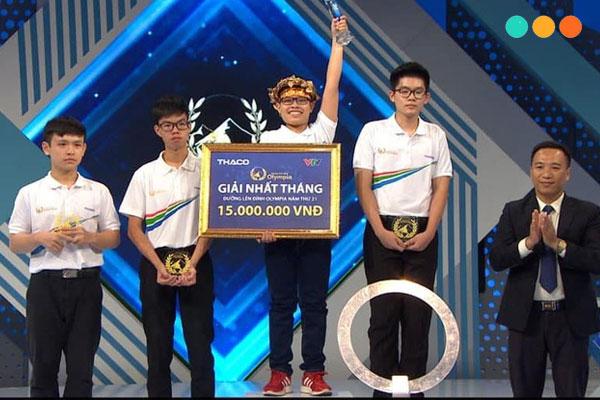Viết về cuộc thi Olympia bằng tiếng Anh