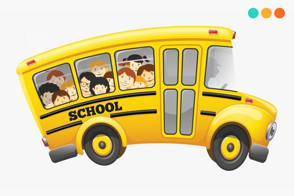 Viết về chiếc xe bus bằng tiếng Anh