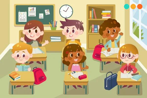 Bài viết đoạn văn về lớp học bằng tiếng Anh - Step Up English