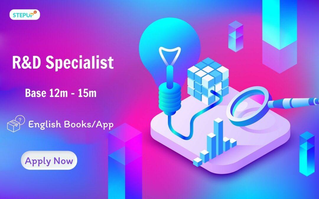R&D Specialist (Research & Development Specialist)