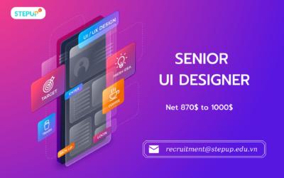 Senior UI Designer (870$ – 1000$)